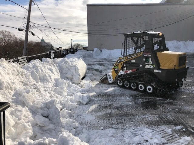 snow removal operation